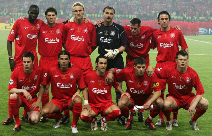 Sastav Liverpula sa finala Lige šampiona 2005. godine