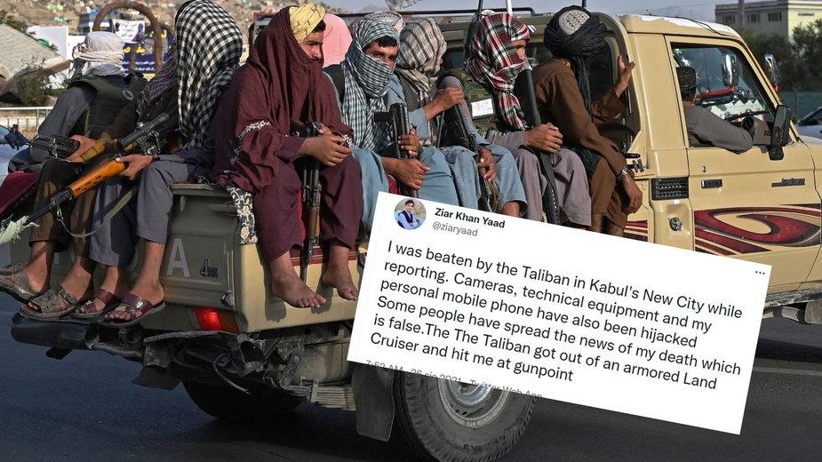 Talibowie w Kabulu zaatakowali niezależnego dziennikarza