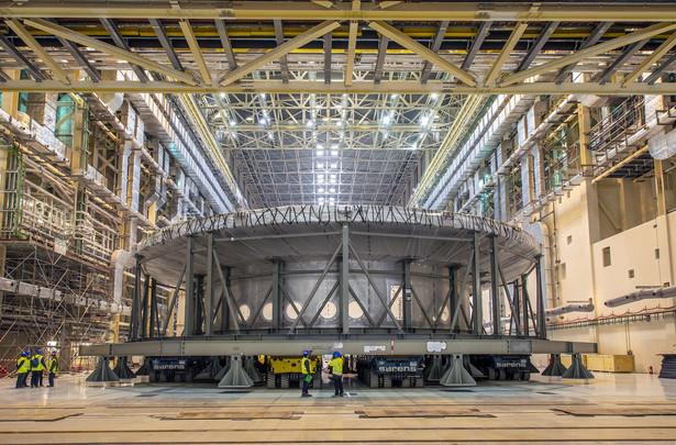 Budowa reaktora termojądrowego ITER we Francji