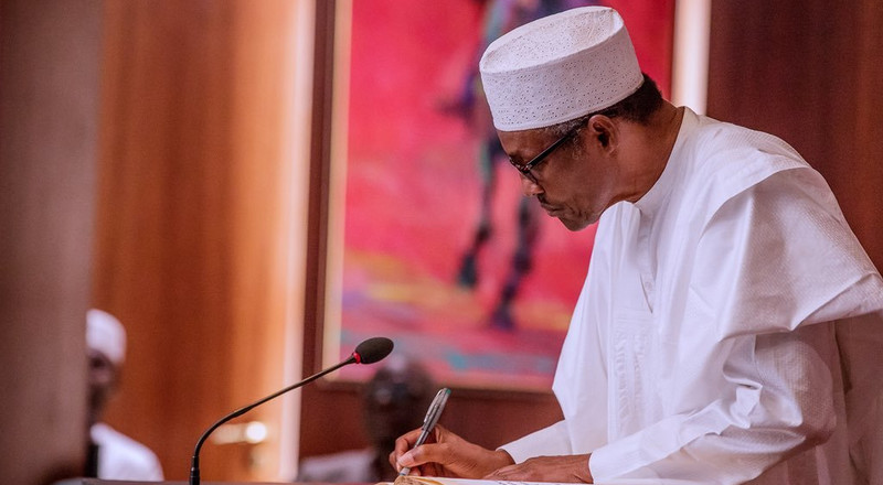 Buhari suspends Walter Onnoghen, swears in Tanko Mohammed as acting CJN
