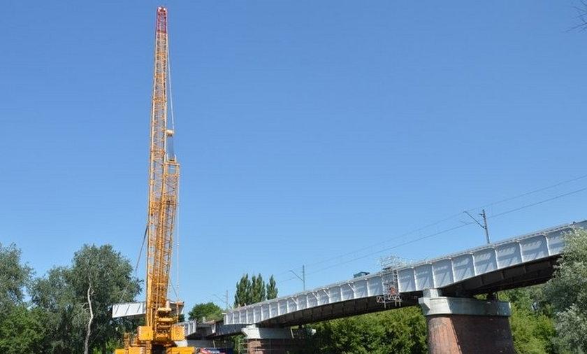 Most nad Wartą w Starołęce