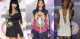 Kolorowe stylizacje i głębokie dekolty na MTV EMA 2014