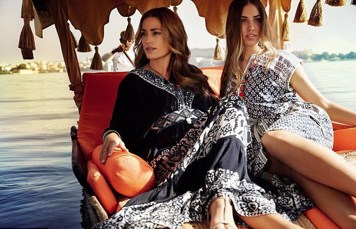 Image result for yasmin lebon and daughters