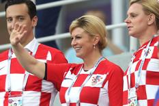 """KOLINDA """"UKRALA"""" MUNDIJAL Ponašanje predsednice Hrvatske izazvalo ogromnu pažnju /FOTO/"""