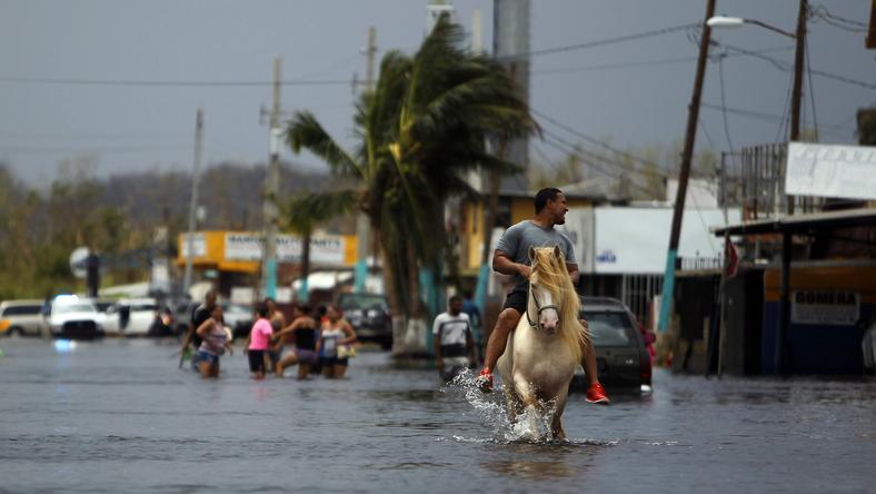 Portoryko po przejściu huraganu Maria