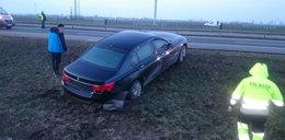 Tylko jedna przyczyna wypadku BMW prezydenta! Jaka?