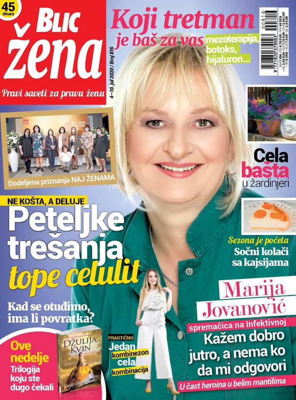 Blic Žena Naslovna 4 jul