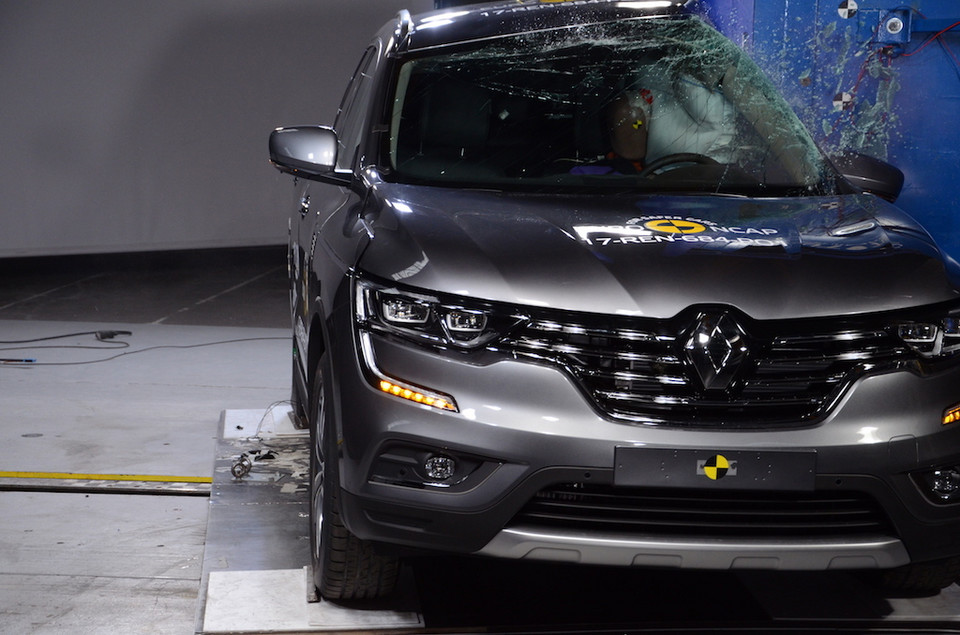 Renault Koleos – crash-test EuroNCAP