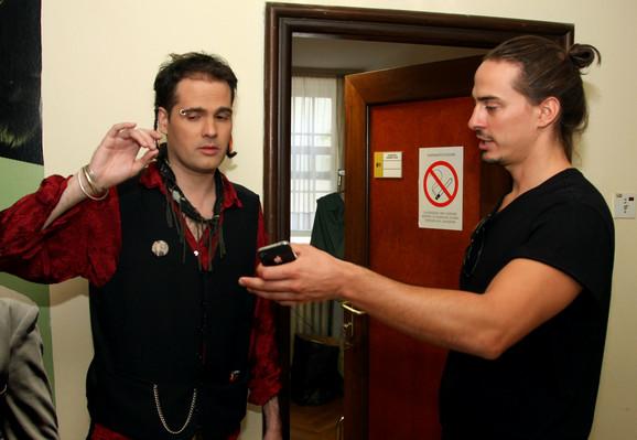 Oliver Nektarijević i Lazar Sakan