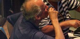 Paweł Wawrzecki to niezły chojrak. Popija wódkę piwem