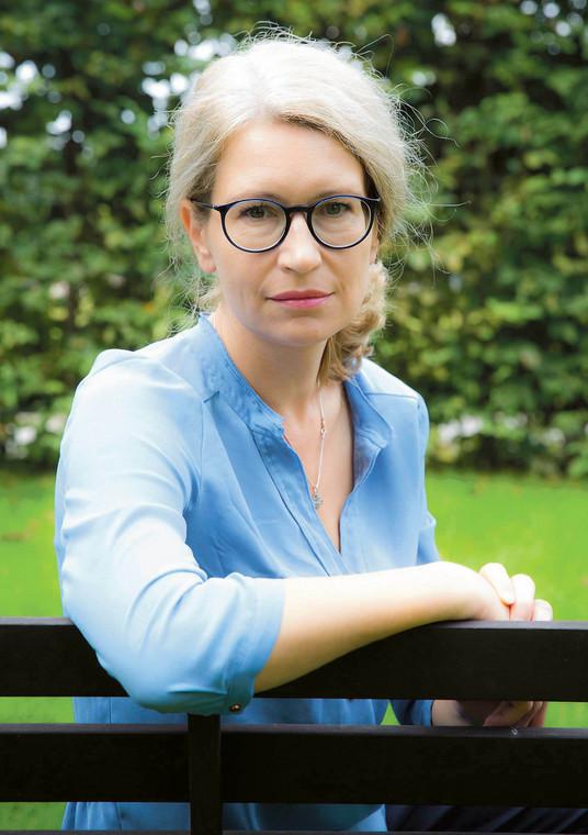 Maria Libura ekspert ds. zdrowia Klubu Jagiellońskiego i współpracowniczka Nowej Konfederacji  fot. Wojtek Górski