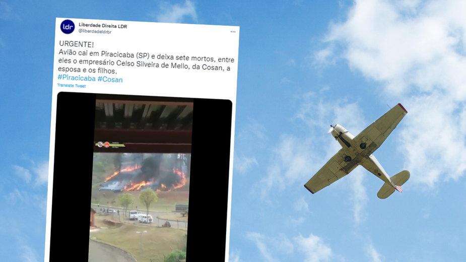 Katastrofa awionetki w Brazylii