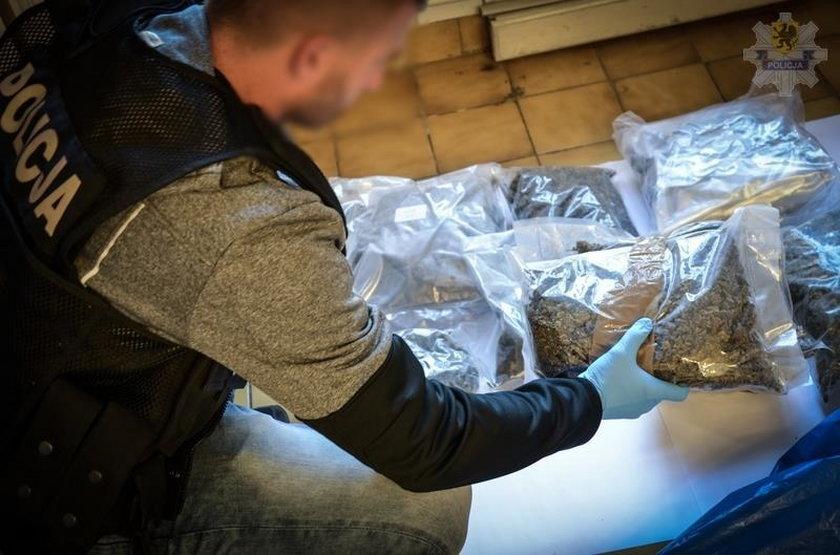 26-latek przewoził gigantyczną ilość narkotyków