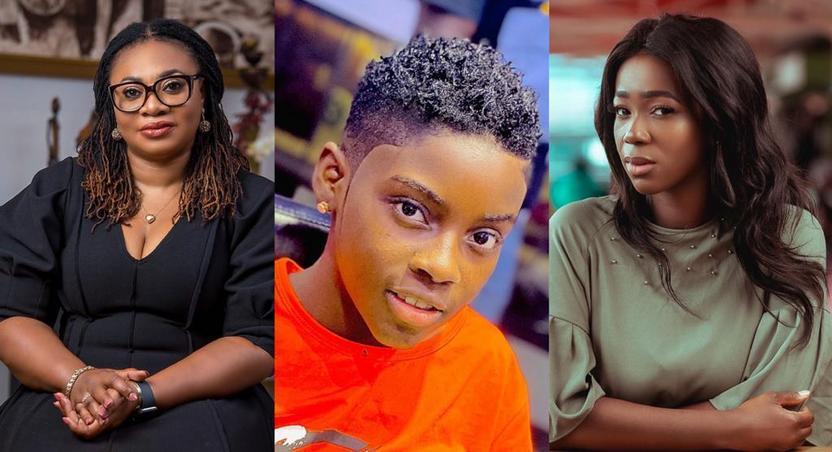 Charlotte Osei, DJ Switch and Ama K Abebrese