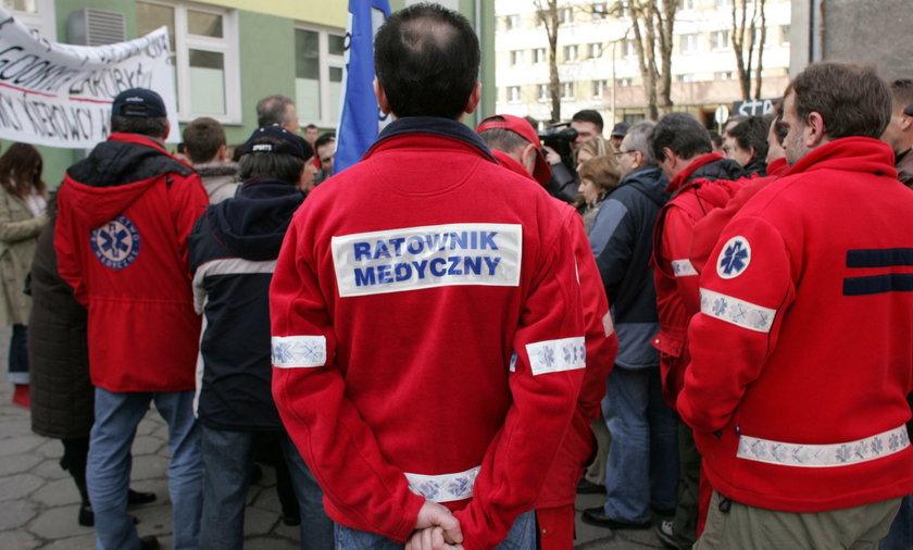 Ogólnopolski protest ratowników medycznych. Chcą podwyżki