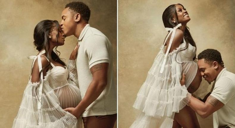 Vanessa Mdee and Fiancé Rotimi announce pregnancy with exquisite photos
