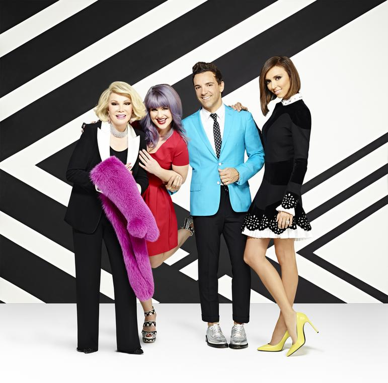 George Kotsiopoulos, Kelly Osbourne, Giuliana Rancic i Joan Rivers