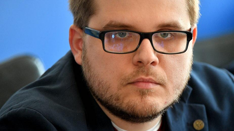 Prezes Klubu Jagiellońskiego Piotr Trudnowski