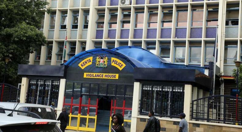 File image of police headquarters in Nairobi, Vigilance House