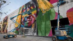 W Rio powstaje największy mural świata