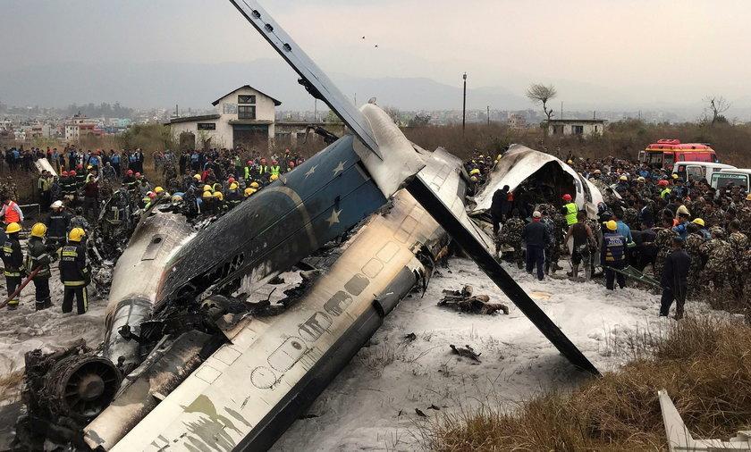 Katastrofa samolotu pasażerskiego. Rozbił się podczas lądowania