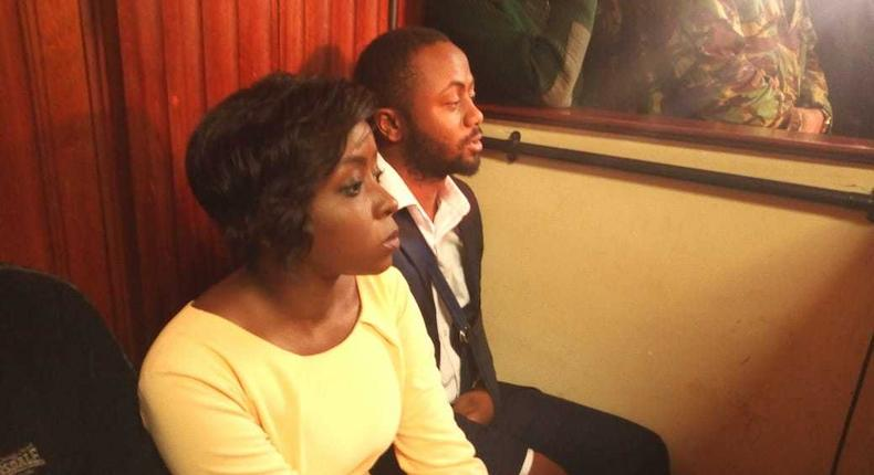 File image of Jacque Maribe with Jowie Irungu