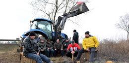 Skandal przy budowie drogi s7! Wielki protest mieszkańców