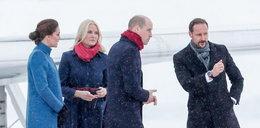 Śnieg, ziąb, a Kate w takich butach!? To już chyba przesada