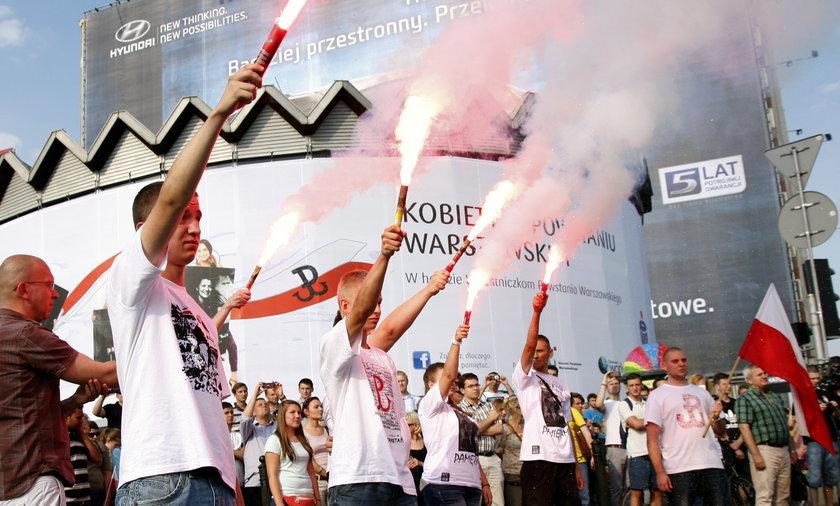 Obchody rocznicy powstania warszawskiego