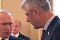 SUSRET SA PUTINOM U PARIZU Tači objavio slike sa ruskim predsednikom i tvrdi da je od njega dobio JASNU PORUKU O KOSOVU (FOTO)