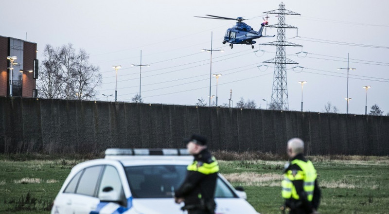 Dutch police arrest four after foiled jailbreak