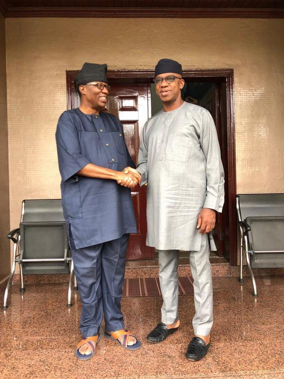 Daniel backed Dapo Abiodun before the governorship election (OGD media)