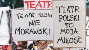 Teatr Polski we Wrocławiu: pierwszy spektakl nowego sezonu, Cezary Morawski opuszcza widownię