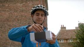 DelivAir - dron dostarczy przesyłkę do naszych rąk