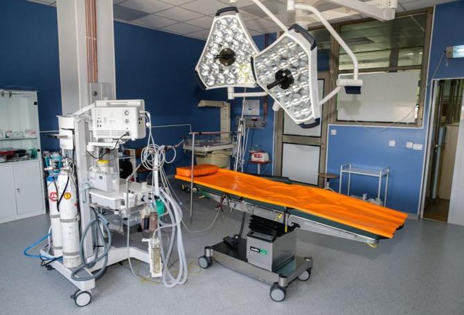 Sala za carski rez u Opštoj bolnici u Vrbasu
