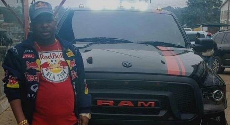 Governor Mike Sonko unveiled his new monster truck, a RAM 1500 Rebel trim