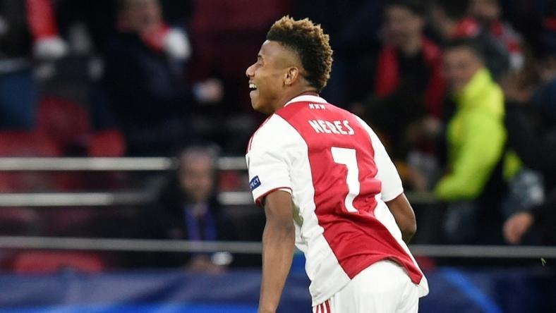 David Neres struck a fine equaliser to give Ajax hope going into the second leg of their Champions League showdown with Juventus
