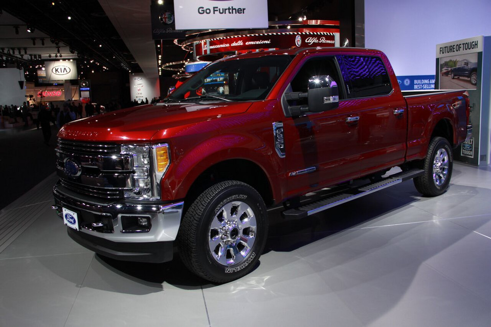 Detroit 2016 - Ford F-250 Super Duty