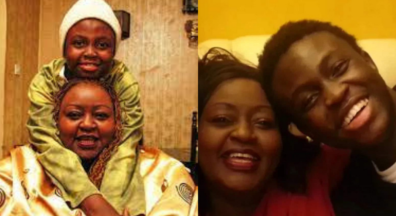 Late Afro-fusion singer Achieng Abura's son, Prince Obura is Dead