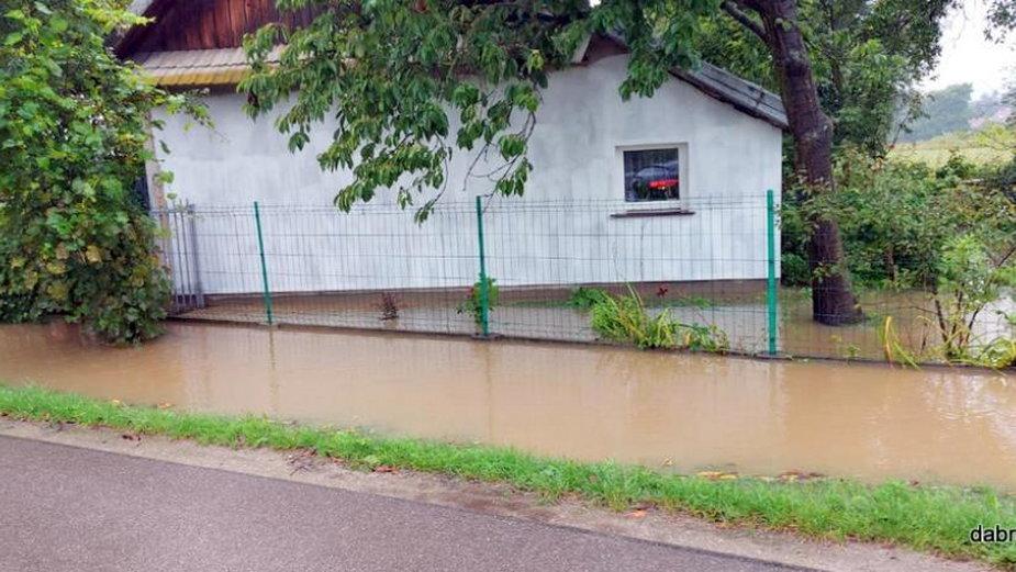 Podtopienia w Dąbrowie Tarnowskiej