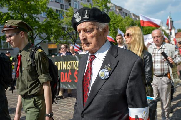 Marsz upamiętniający 116. rocznicę urodzin rtm. Witolda Pileckiego.