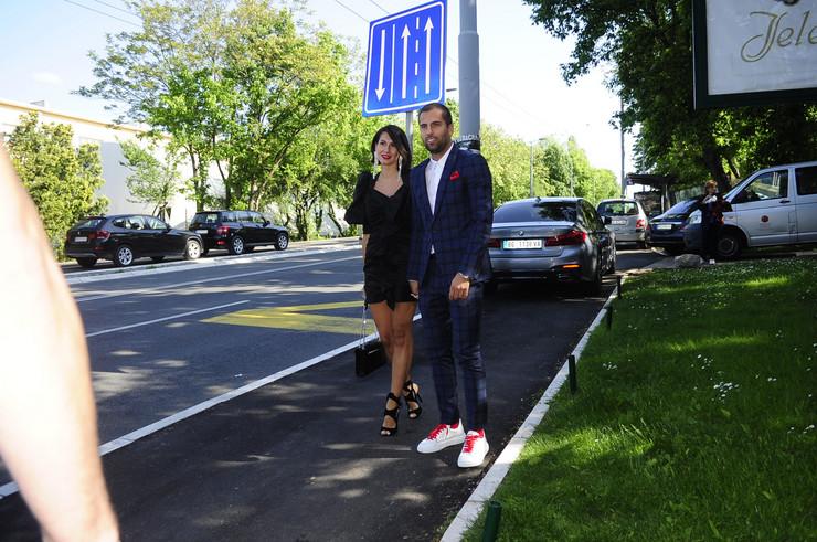 Marko Đurovski sa suprugom