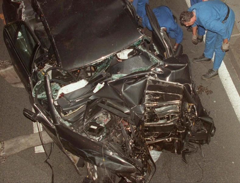Samochód, w którym zginęła ksieżna Diana
