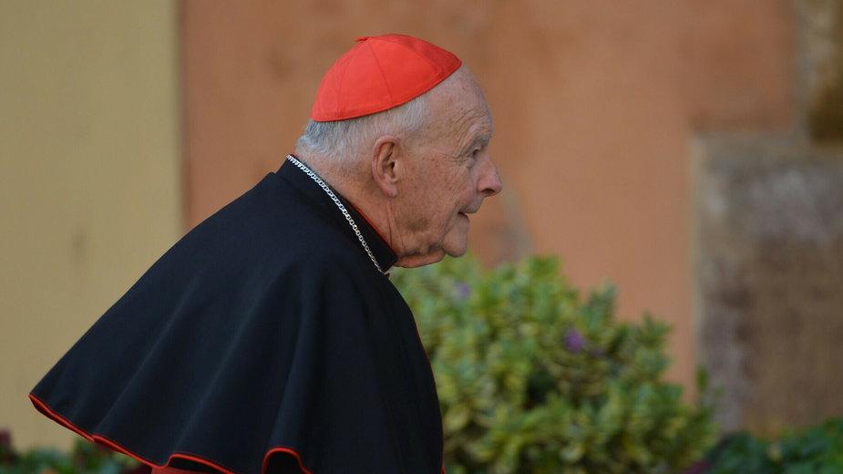 Kardynał Edgar Theodore McCarrick. Zdjęcie z marca 2013 roku