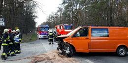 Groźny wypadek na Opolszczyźnie