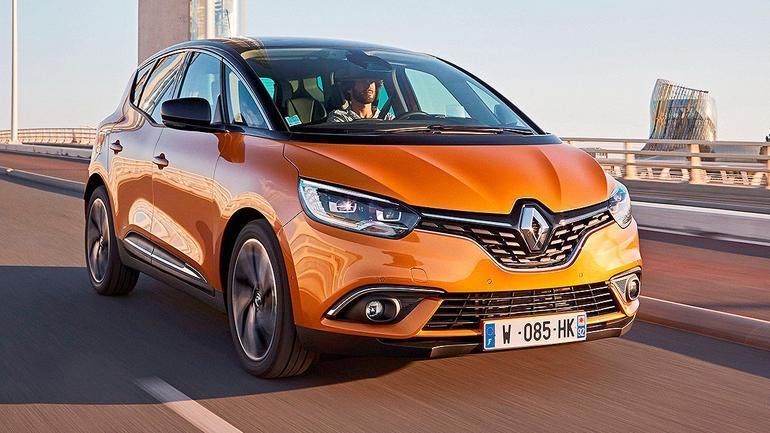 Renault Scenic - komfortowy van na 20-calowych kołach