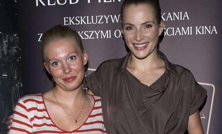 Dereszowska z siostrą na salonach. Foto
