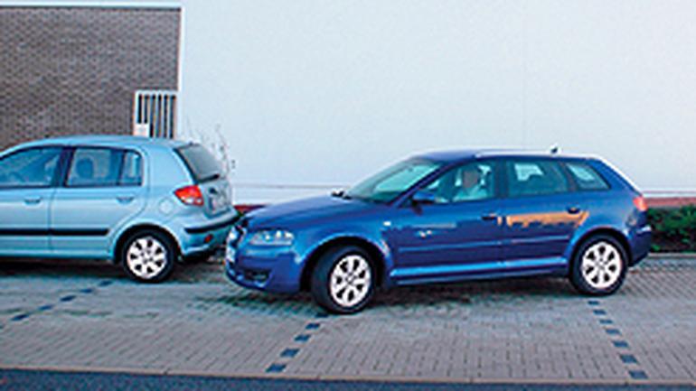 Montaż czujników parkowania