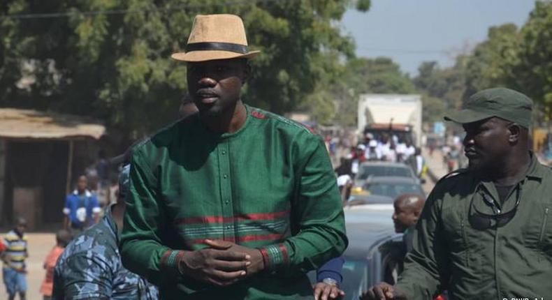 Ousmane Sonko occupe la tête de l'opposition au régime de Macky Sall