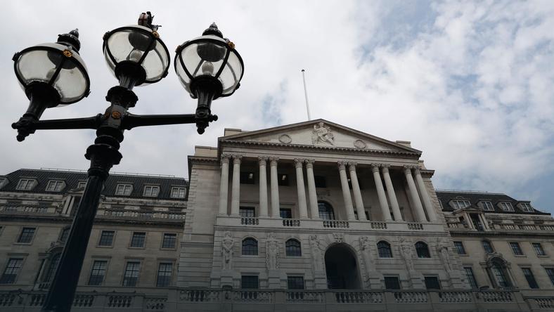 Siedziba Banku Anglii w Londynie